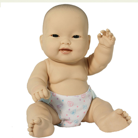 Jc Toys Group BER16540 Lots To Love 10In Asian Baby Doll, Price/EA