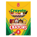 Crayola BIN080W Multicultural Crayons Large 8Pk