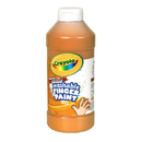 Crayola BIN131636 Washable Fingerpaint 16Oz Orange