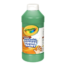 Crayola BIN131644 Washable Fingerpaint 16Oz Green