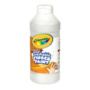 Crayola BIN131653 Washable Fingerpaint 16Oz White