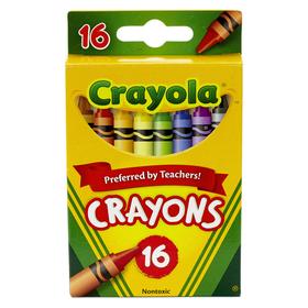Crayola BIN16 Regular Size Crayons 16Pk, Price/EA
