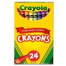 Crayola BIN24 Regular Size Crayon 24Pk