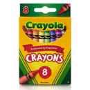Crayola BIN3008 Crayons 8 Color Peggable