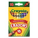 Crayola BIN3016 Crayons 16 Color Peggable