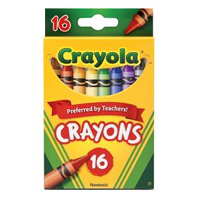 Crayola BIN3016 Crayons 16 Color Peggable, Price/EA