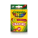Crayola BIN3024 Crayons 24 Color Peggable