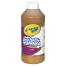 Crayola BIN311507 Artista Ii Tempera 16Oz Brown Washable Paint