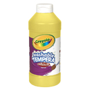 Crayola BIN311534 Artista Ii Tempera 16 Oz Yellow Washable Paint