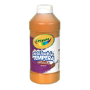 Crayola BIN311536 Artista Ii Tempera 16 Oz Orange Washable Paint