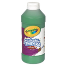 Crayola BIN311544 Artista Ii Tempera 16 Oz Green Washable Paint
