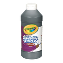 Crayola BIN311551 Artista Ii Tempera 16 Oz Black Washable Paint