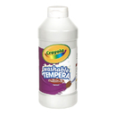 Crayola BIN311553 Artista Ii Tempera 16 Oz White Washable Paint