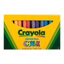 Crayola BIN510404 Colored Drawing Chalk 24Pk
