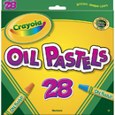 Crayola BIN524628 Oil Pastels 28 Color Set