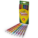 Crayola BIN527408 Twistables Crayons 8 Ct