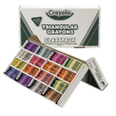 Crayola BIN528039 Crayola Crayon Classpack Triangular - 16 Colors 256 Crayons