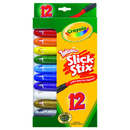 Crayola BIN529512 Twistables Slick Stix 12 Count