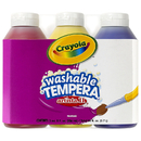 Crayola BIN543181 Artista Ii Tempera 3Ct 8Oz Primary Color Set Washable Paint