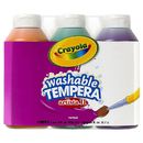 Crayola BIN543182 Artista Ii Tempera 3 8Oz Secondary Color Set Washable Paint