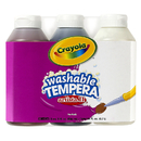 Crayola BIN543183 Artista Ii Tempera 3Ct 8Oz Neutral Color Set Washable Paint