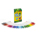 Crayola BIN585050 Washable Markers 50Ct Super Tips - W/Silly Scents