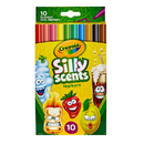 Crayola BIN585071 Crayola Silly Scnt 10Pk Slim Marker
