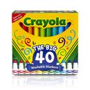 Crayola BIN587858 Crayola Wash Broad Line Marker 40Pk