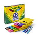 Crayola BIN587861 Crayola Wash Fine Line Marker 40Pk