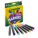 Crayola BIN588163 8Ct Gel Fx Washable Markers