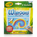 Crayola BIN588165 8Ct Washable Window Markers