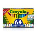 Crayola BIN588180 Crayola Wash Broad Line Marker 64Pk
