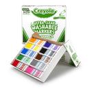 Crayola BIN588211 Washable Classpack 10 Asst Colors 200 Ct Fine Tip