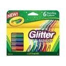 Crayola BIN588629 Crayola Glitter Markers 6 Colors