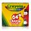 Crayola BIN64 Regular Size Crayon 64Pk