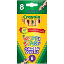 Crayola BIN684108 Write Start 8 Ct Colored Pencils