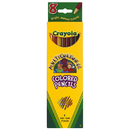 Crayola BIN684208 Multicultural 8 Ct Colored Pencils