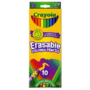 Crayola BIN684410 Erasable Colored Pencils 10 Color Set