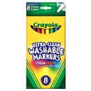 Crayola BIN7809 Washable Drawing Marker 8 Colors