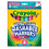 Crayola BIN7816 Washable Markers 8 Pk Tropical Colors Conical Tip