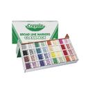 Crayola BIN8201 Classpack Marker 16 Colors 256 Ct