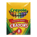 Crayola BIN8 Regular Size 8 Colors
