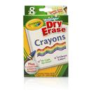 Crayola BIN985200 Crayola Dry Erase Crayons 8 Count - Washable