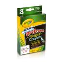 Crayola BIN985202 Dry Erase Bright 8 Count Crayons