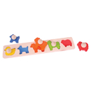 Bigjigs Toys BJTBB041 Matching Board Puzzle Animals