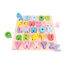 Bigjigs Toys BJTBB055 Chunky Alphabet Puzzle Uppercase
