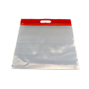 Bags Of Bags BOBZFH1413R Zipafile Storage Bags 25Pk Red