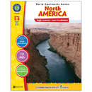 Classroom Complete Press CCP5750 World Continents Series North America
