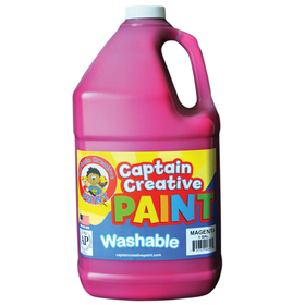 Certified Color CCR9035G Captain Creative Magenta Gallon Washable Paint, Price/EA