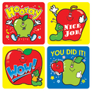 Carson Dellosa CD-0601 Stickers Apples 120/Pk Acid & Lignin Free